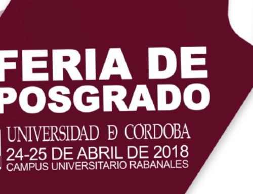 II Feria de Posgrado de la Universidad de Córdoba