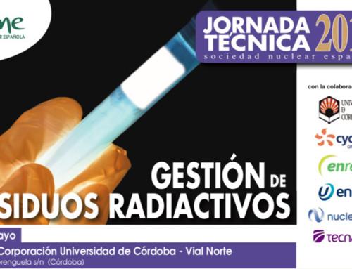 Jornada Técnica SNE 2018 en colaboración con la Universidad de Córdoba
