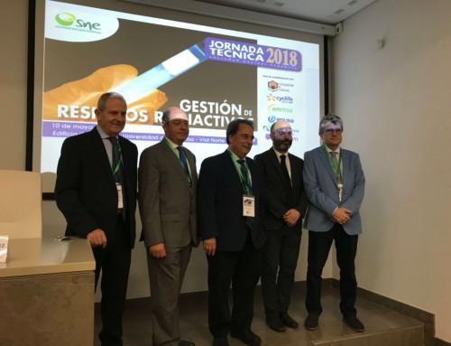 Participación Jornada Técnica de la Sociedad Nuclear Española «Gestión de Residuos Radiactivos»