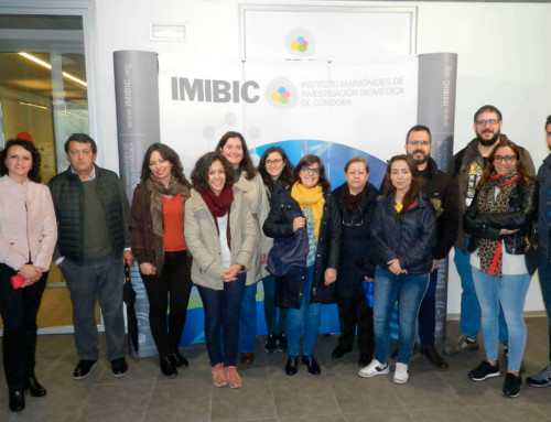 La 3ª edición del Título en Gestión y Tratamiento de Residuos Radiactivos visitan el Instituto Maimónides de Investigación Biomédica de Córdoba